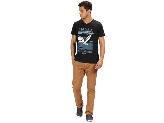 Regatta Calton Camiseta Hombre, black